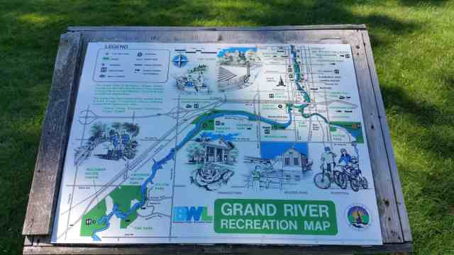 Lansing River Trail Map - #MittenTrip Lansing - The Awesome Mitten