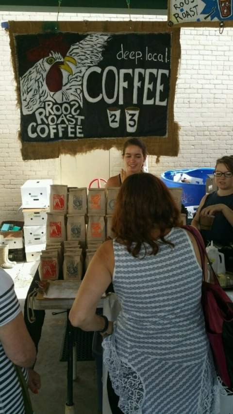 Roos Roast Coffee - Ann Arbor Farmers' Market - #MittenTrip - Ann Arbor - The Awesome Mitten