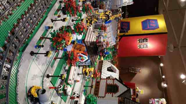 Lego Replica of Saginaw in The Castle Museum - #MittenTrip - Saginaw - The Awesome Mitten