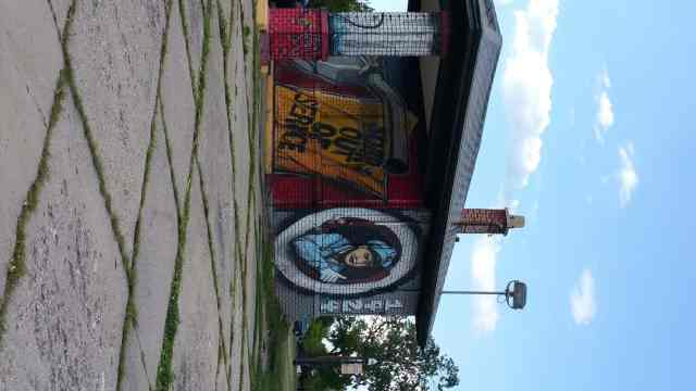 Street Art in Saginaw - #MittenTrip - Saginaw - The Awesome Mitten