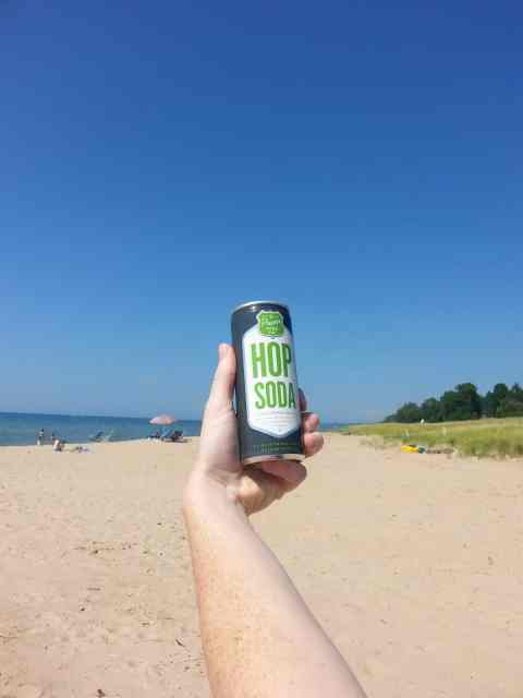 Proper Soda at Oak Street Beach - #MittenTrip - South Haven - The Awesome Mitten