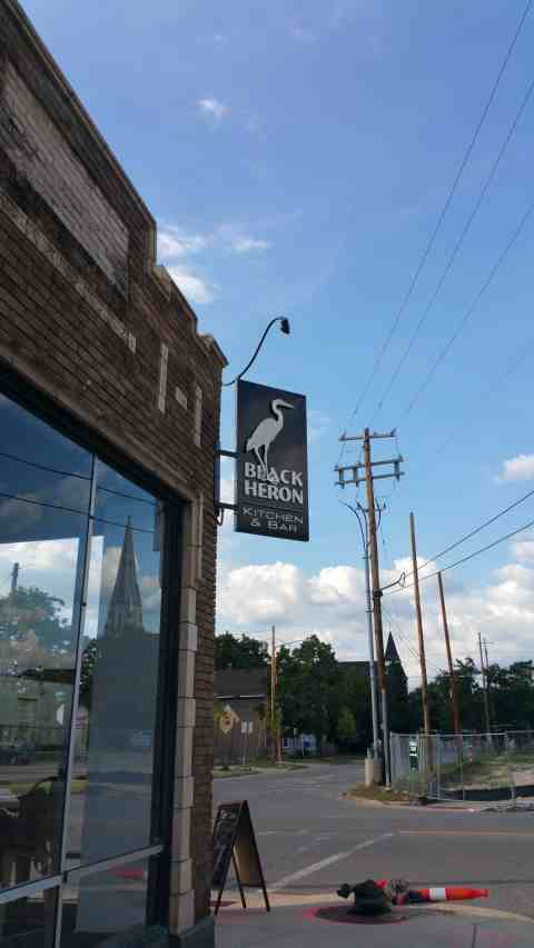The Black Heron - #MittenTrip - GrandRapids