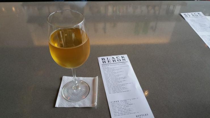 Starcut Memento Cider at The Black Heron - #MittenTrip - GrandRapids