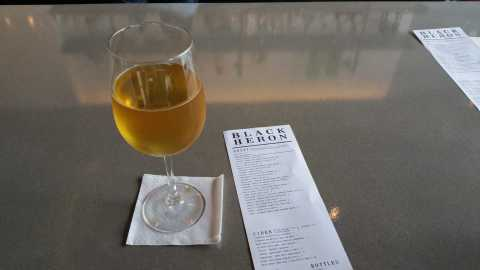 Starcut Memento Cider at The Black Heron - #MittenTrip - GrandRapids