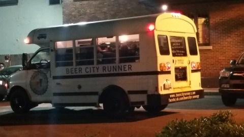 The Beer City Runner Bus - #MittenTrip - GrandRapids