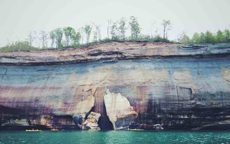 Pictured Rocks - The Awesome Mitten