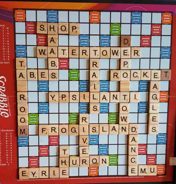 Scrabble - #MittenTrip - Ypsilanti - The Awesome Mitten