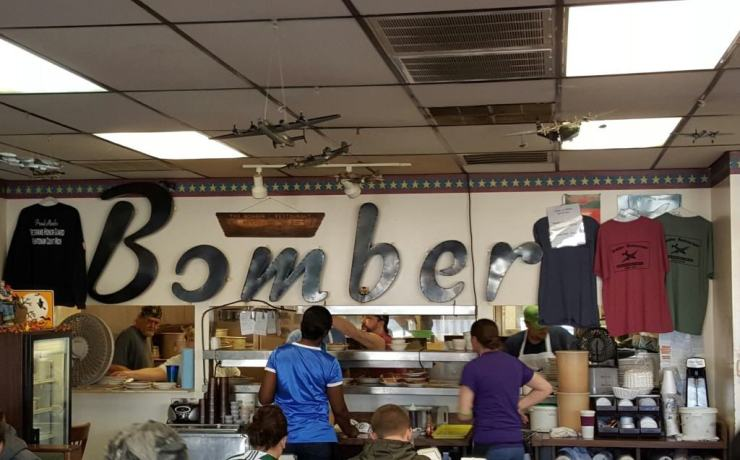 bomber restaurant - yspilanti - #mittentrip - the awesome mitten