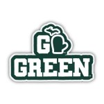 MSU Go Green Sticker