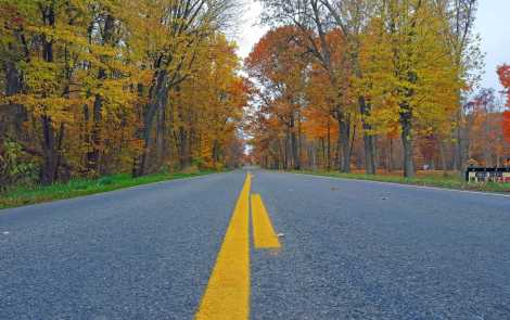 Enjoy Fall Colors in Mid-Michigan in the Irish Hills