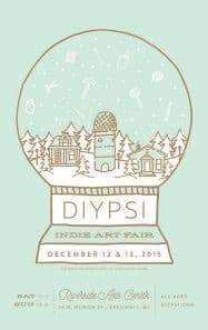 This year's DIYpsi poster.