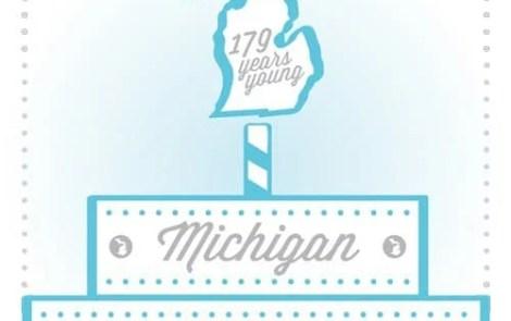 Michigan Birthday Bake-Off Professional Entries 2016