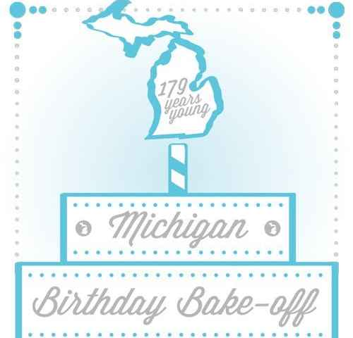 Michigan Birthday Bake-Off Professional Entries 2016
