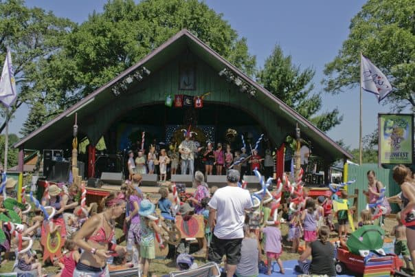 All kinds of music for all kinds of people. Find your bliss at Blissfest! Photo courtesy of Stafford's