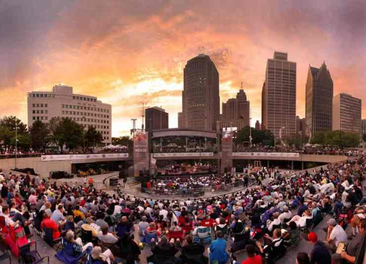 The Detroit Jazz Festival is known for being one of the best jazz festivals in the world. Photo courtesy of Pure Michigan