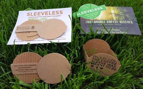 Sustainable Sipping with Sleeveless Coffee Sleeves