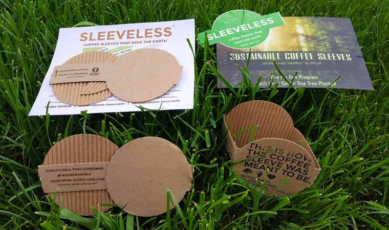 Sleeveless Coffee Sleeves from sleeve-less.com in Grand Rapids, Michigan