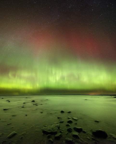 Northern Lights. Photo courtesy of Headlands International Dark Sky Park