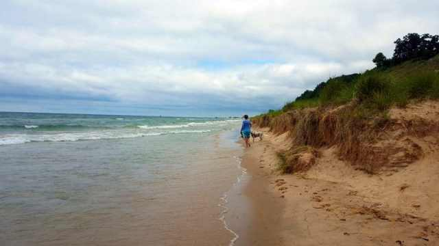 Lake Michigan Beaches Worth a Look on the West Side - Norman F. Kruse Park, Muskegon