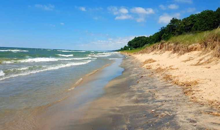 Lake Michigan Beaches - The Awesome Mitten