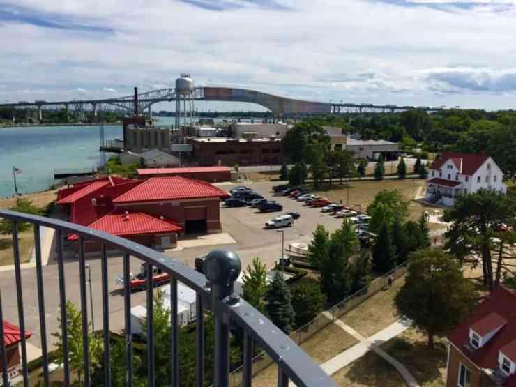 Fort Gratiot Lighthouse catwalk, Port Huron - Joel Heckaman - The Awesome Mitten