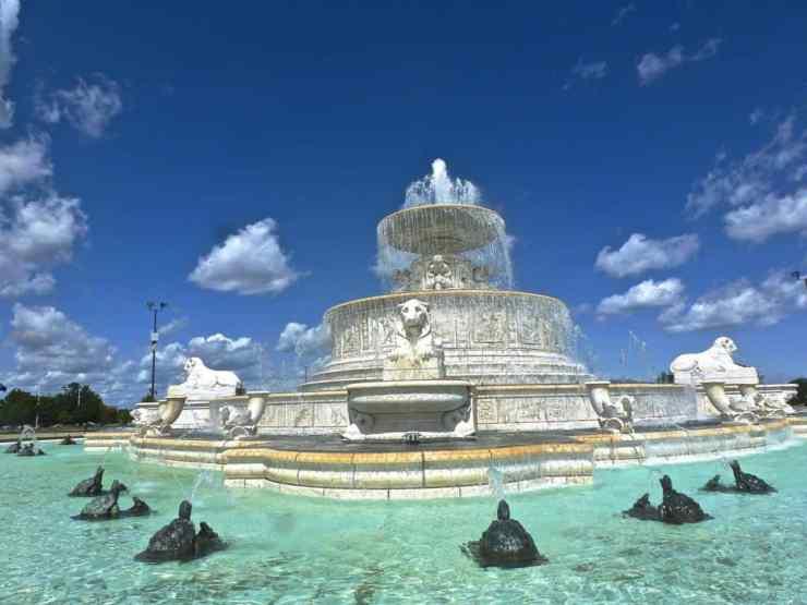 Scott Fountain Belle Isle - Detroit - Awesome Mitten