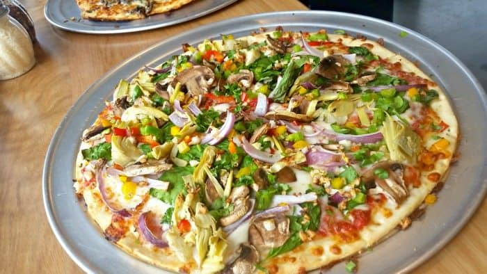 Michigan Gluten-Free Restaurant NKD Pizza - The Awesome Mitten