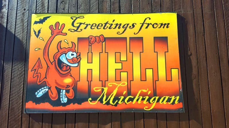 Uncovering Fall Fun in Hell (Michigan)