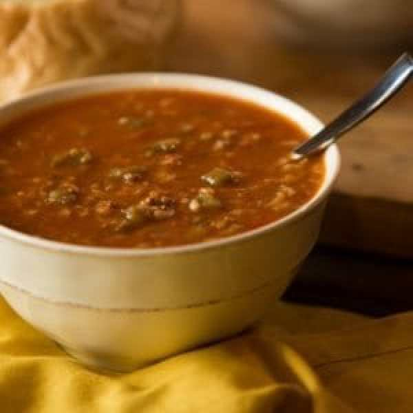 Hearty Minestrone. Photo courtesy of The Souper Cafe.