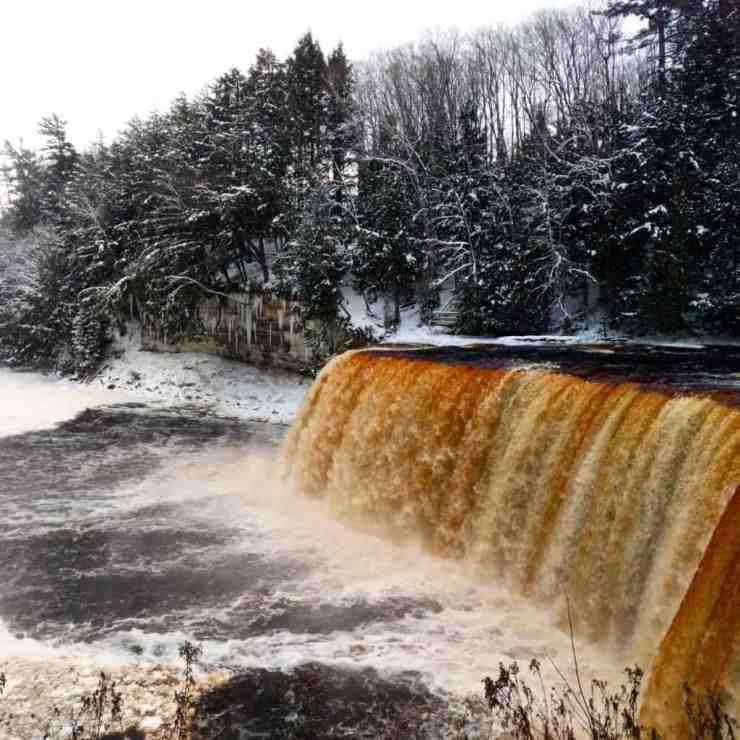 The Awesome Mitten - Winter Adventures At Tahquamenon Falls State Park
