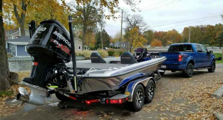 For most, prep time begins right after the boat is winterized. Photo courtesy of Duane Bethke
