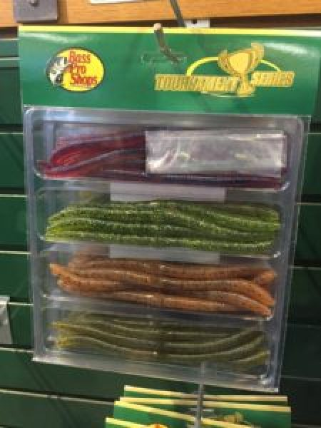 """A variety of Senko lures in a """"Tournament Series"""" starter set. Photo by Michele Eichstead"""