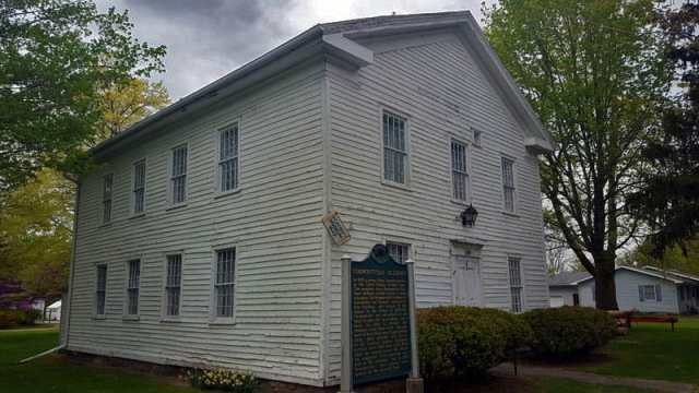 Vermontville Academy and historical museum - The Awesome Mitten