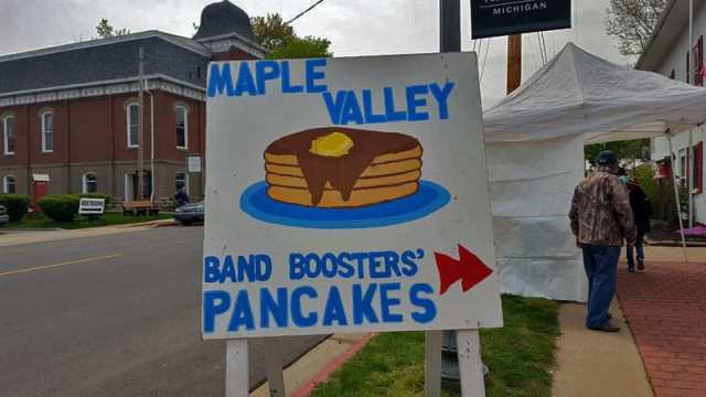 Vermontville fire station pancake fundraiser - The Awesome Mitten