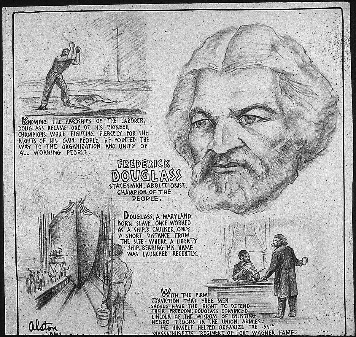 Frederick Douglass Illustrated