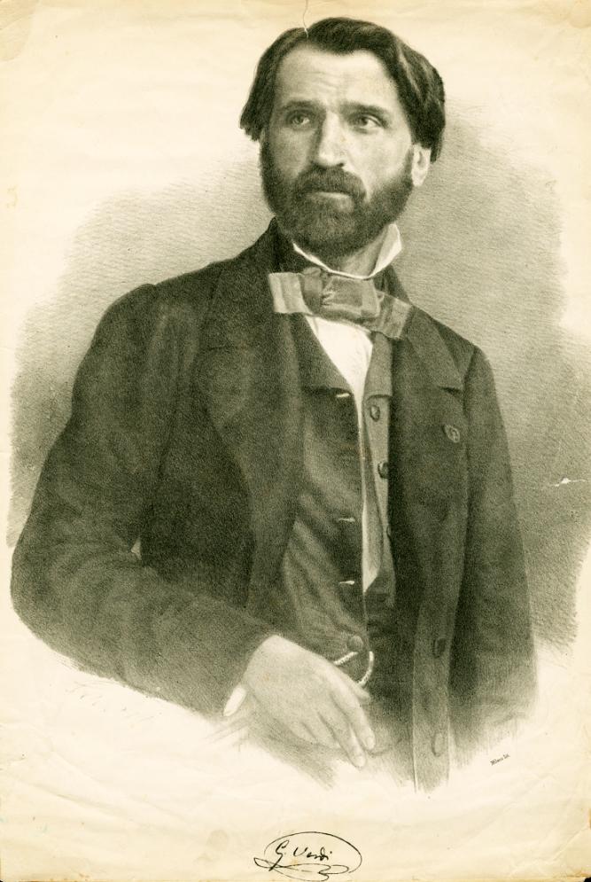 Giuseppe Verdi Popular Composer