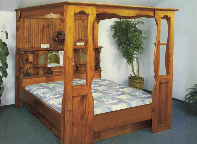 Waterbed Grand Universal Canopy Only No Bed Cal K King