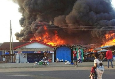 Fire destroys several houses and shops at Mile 12