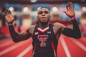 Oduduru breaks 200m National Record at NCAA Championships,equals 100m World Lead