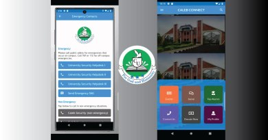 Caleb University Launches Mobile Applications