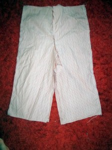 upcycled toddler trousers