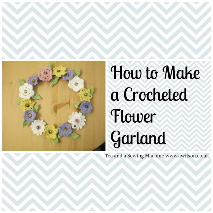 How to Crochet a Flower Garland