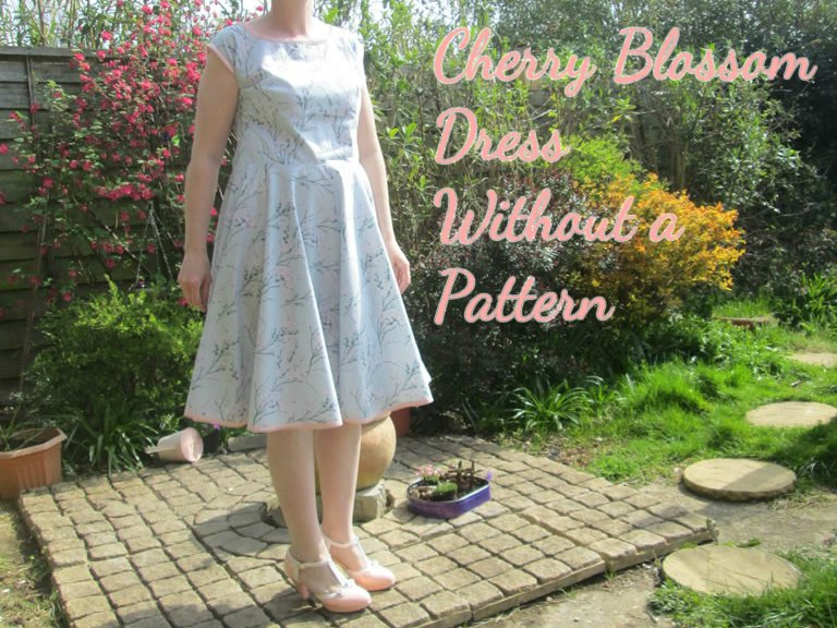 Cherry Blossom Dress Without a Pattern