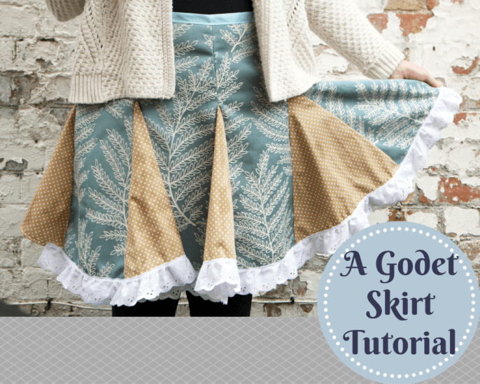 Skirt With Godets Tutorial