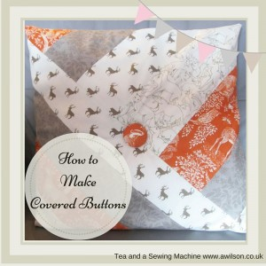 How to make covered buttons