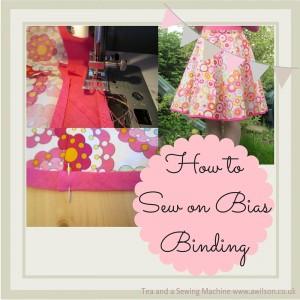 how to sew on bias binding