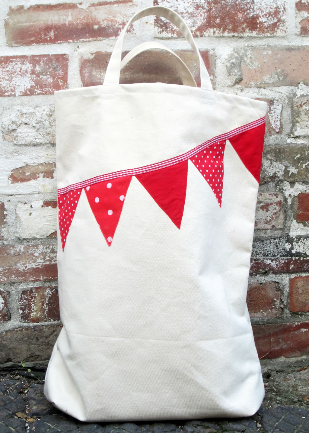 shopping bag tutorial 12 tips for making bunting