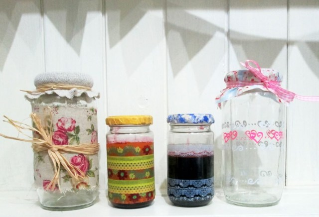 making jars pretty