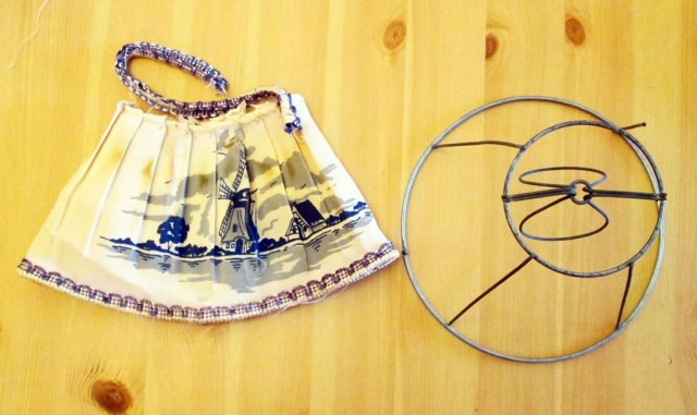 how to recover a lampshade rewire a lamp