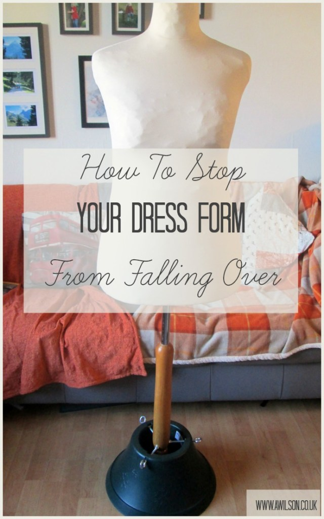 dress form falling over mannequin tailors dummy
